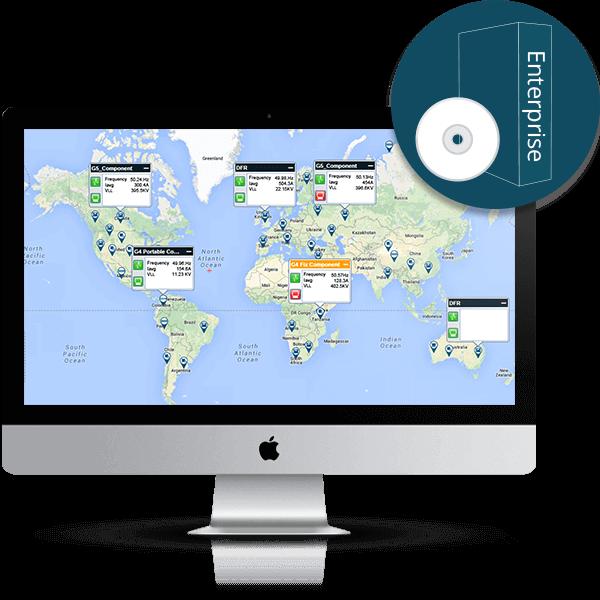 PQSCADA Sapphire power quality software Enterprise edition