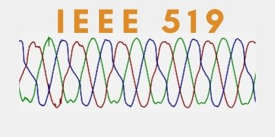 Distorted waveform with IEEE 519 heading